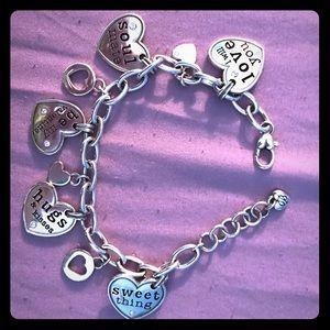 Brighton Valentines day bracelet